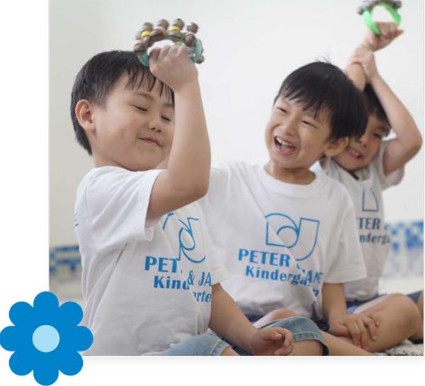 Children enjoying their early childhood education