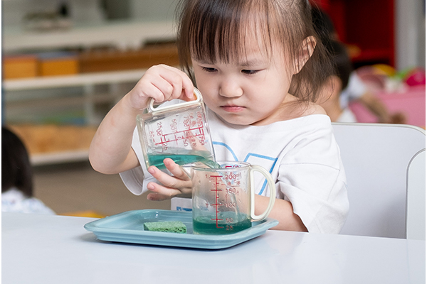 Student learning through the Montessori Method