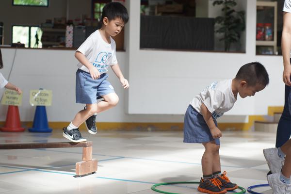 Children playing at Peter & Jane Kindergarten in Damansara Jaya