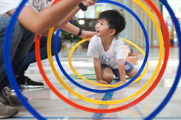 Child playing at Peter & Jane Kindergarten in Kota Kemuning