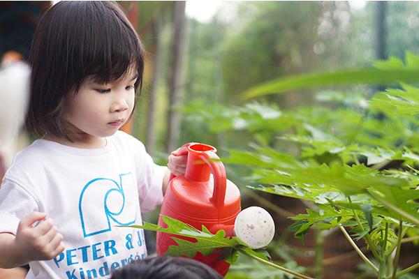 Student at Peter & Jane kindergarten in Mutiara Damansara