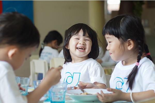 Students in a classroom in Peter & Jane kindergarten in Taman Sea