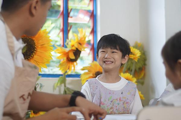 Children learning at Peter & Jane kindergarten in Taman Sea